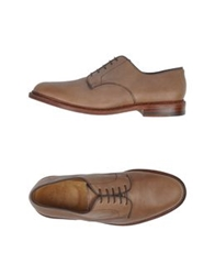 N.D.C. Made By Hand Lace Up Shoes Brown