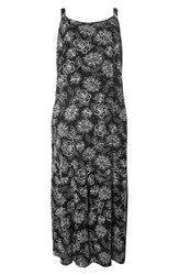 Evans Plus Size Women's Print Maxi Dress Dark Multi