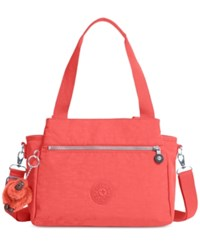 Kipling Elysia Satchel Papaya Orange