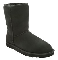 Men's Ugg Australia 'Classic Short' Boot Black
