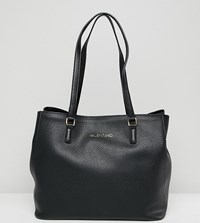 Valentino By Mario Valentino Slouchy Black Tote Bag Black