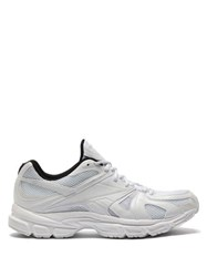 Vetements X Reebok Spike Runner 200 Mesh Trainers White