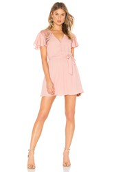 Bb Dakota First Impressions Dress Pink