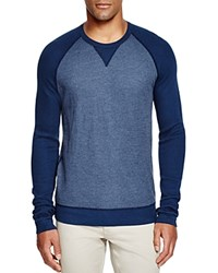Splendid Thermal Raglan Tee Navy