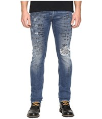 Just Cavalli Five Pocket Jeans Blue Denim Men's Jeans