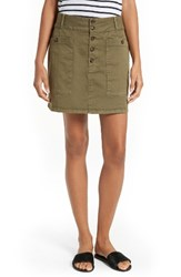 Frame Women's Le Mini Chino Skirt