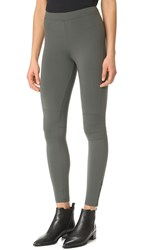 David Lerner Ankle Zip Leggings Olive