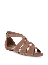 424 Fifth Mandy Suede Sandals Ballet