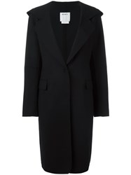 Dkny Hooded Coat Black