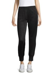 Missoni Metallic Jogger Pants Black