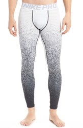 Nike Men's Pro Warm Talistatic Tights White Wolf Grey Black