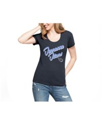 47 Brand '47 Women's Tennessee Titans Club Script T Shirt Navy