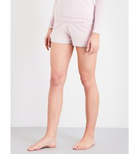 Pepper And Mayne Slim Fit Cashmere Shorts Baby Pink