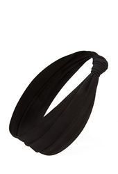 Forever 21 Knotted Knit Headwrap Black