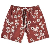 Saturdays Surf Nyc Timothy Poppy Swim Short Red