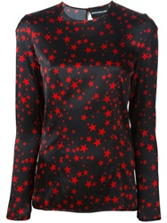 Marco Bologna Star Print Blouse Red