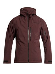 Peak Performance Heli 2L Gravity Padded Ski Jacket Burgundy