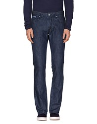 Trend Corneliani Denim Denim Trousers Men Blue
