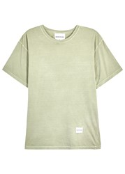 Mki Miyuki Zoku Light Green Cotton T Shirt Olive