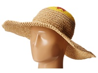 Bcbgmaxazria Emoji Floppy Hat Natural Traditional Hats Beige