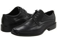 Ecco New Jersey Tie Black Santiago Full Grain Leather Men's Lace Up Bicycle Toe Shoes
