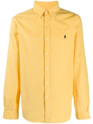 Ralph Lauren Long Sleeved Cotton Shirt Yellow