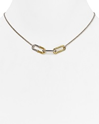 Marc By Marc Jacobs Ferus Bubble Chain Pendant Necklace 16 Argento Multi