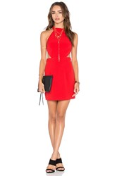 Nbd X Naven Twins Show It Off Bodycon Dress Red