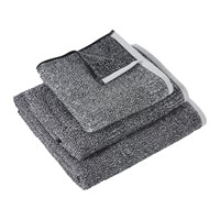 Amara Grain Towel Black And White