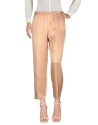 Fabrizio Lenzi Casual Pants Skin Color