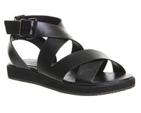 Office Bounce Sporty Sandals Black