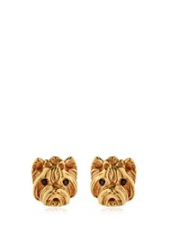 Mg Trends Gold Plated Silver Yorkshire Earrings