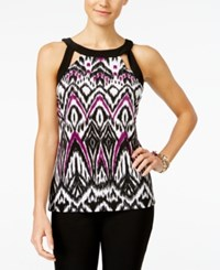 Inc International Concepts Cutout Halter Top Only At Macy's Arrow Spear Ikat