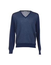 Gran Sasso Knitwear Jumpers Men Dark Blue