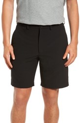 Nordstrom Big And Tall Men's Shop Performance Chino Shorts Black
