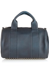 Alexander Wang Rocco Galaxy Heat Sensitive Textured Leather Tote Blue