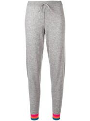 Chinti And Parker Contrasting Cuffs Track Pants Grey