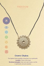 Topshop Crown Chakra Ditsy Necklace Gold