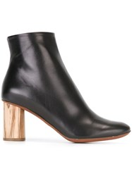 Proenza Schouler Chunky Heel Ankle Boots Black