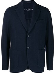 Circolo 1901 Single Breasted Knitted Blazer 60