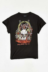 Urban Outfitters Slayer Metal Tee Black