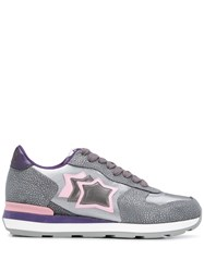 Atlantic Stars Vega Contrasting Panel Sneakers 60