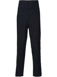 Givenchy Textured Tailored Trousers Black