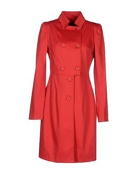 Byblos Full Length Jackets Red