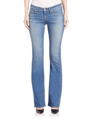 Rag And Bone Mid Rise Bootcut Jeans Delancey