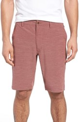 7 Diamonds Existence Stretch Shorts Brick Red