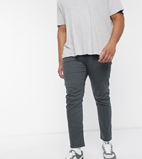 Jacamo Slim Fit Jeans In Charcoal Grey