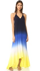Young Fabulous And Broke Shanice Dress Cobalt Lime Ombre