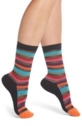 Paul Smith Felicity Rainbow Socks Black Multi