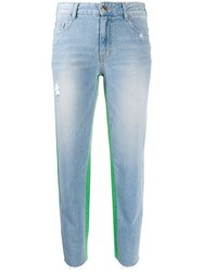 Sjyp Color Two Tone Jeans 60